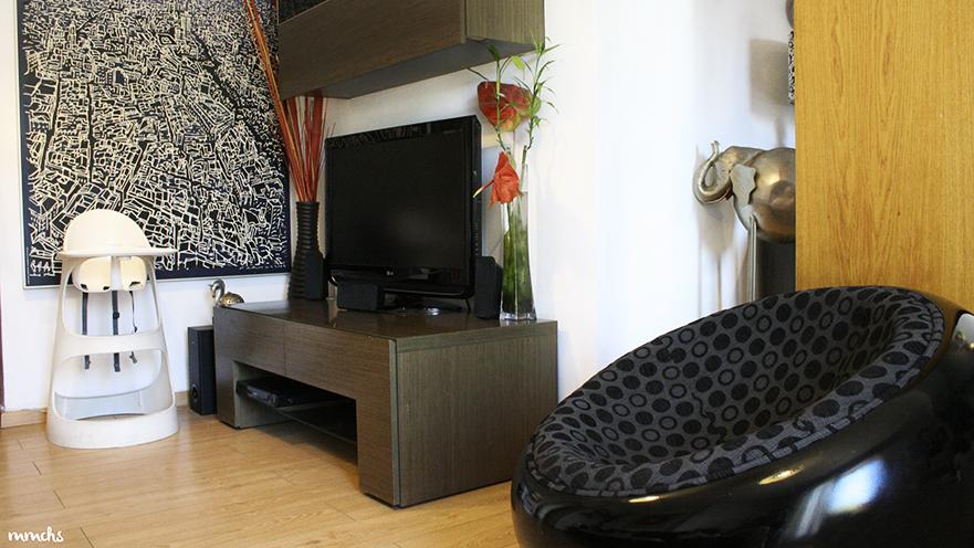 decoración salón estilo nórdico