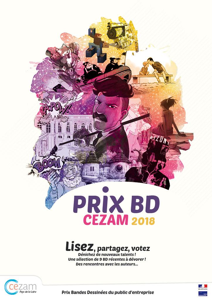 Prix BD Cezam 2017