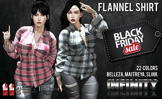 !NFINITY Flannel Shirts @ Black Friday!! | by infinity.owner