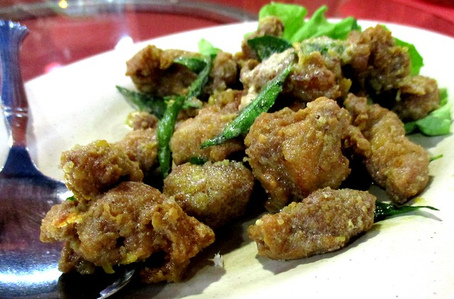 Ruby Restaurant salted egg pork