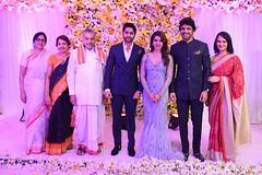 NagaChaitanya - Samantha's Wedding Reception Stills