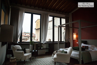 2nd Floor bedroom at Canto del Giglio Rosso | by thewanderingeater