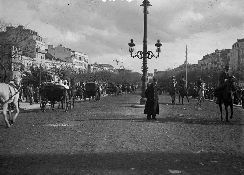 Av. da Liberdade, Lisboa (F. Cunha, 1928)