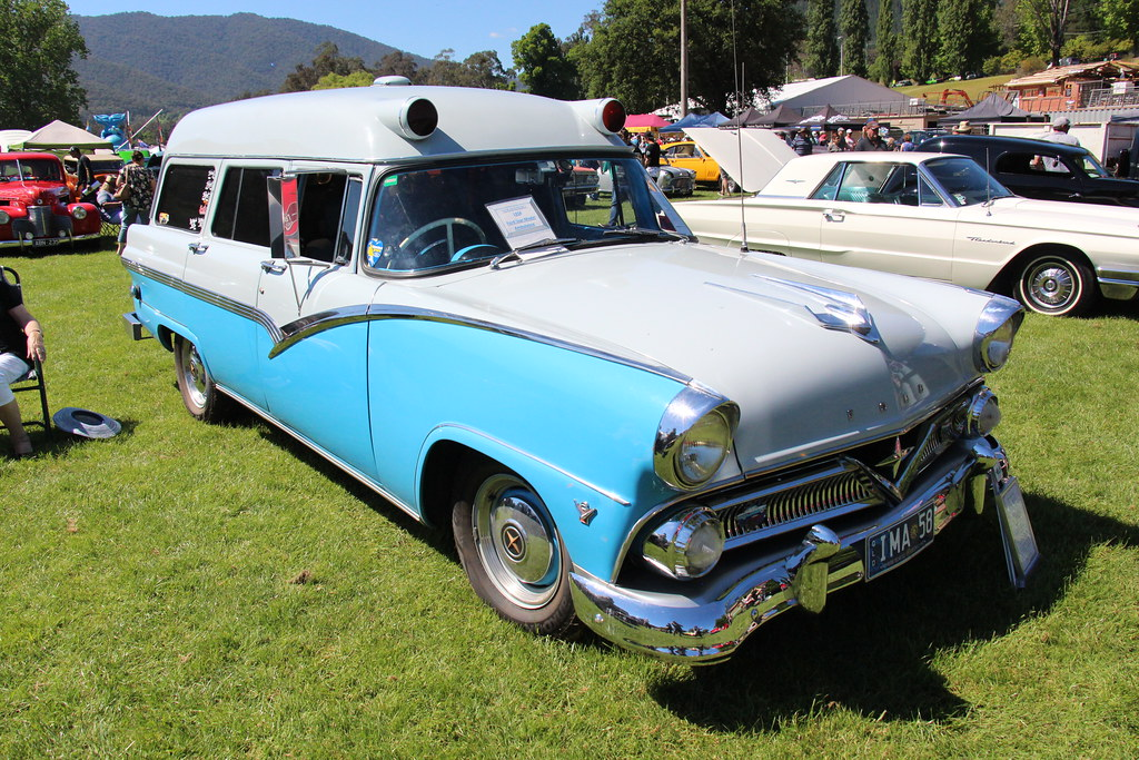 New Ford F150 >> 1958 Ford V8 Customline Ambulance   The 1955 Fords shared ...
