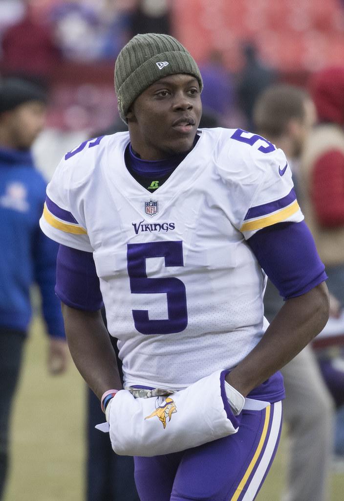 Teddy Bridgewater | Vikings at Redskins 11/12/17 | Keith ...