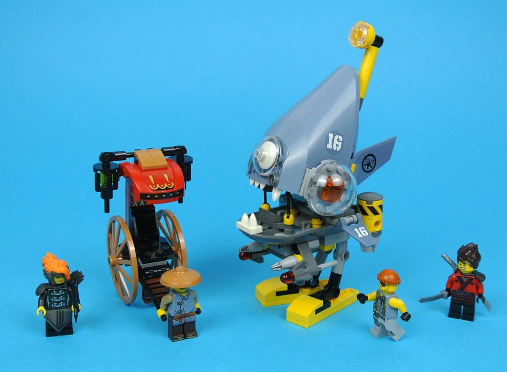 LEGO The LEGO Ninjago Movie 70629 Piranha Attack review | Brickset