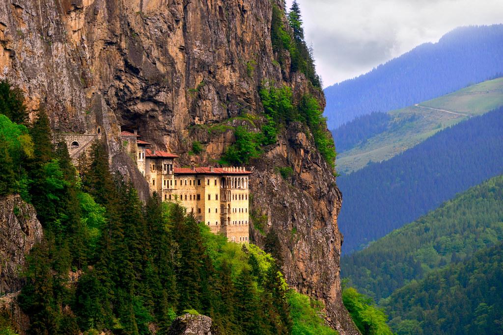 Sumela Manastiri Sumela Monastery Sumelada Bahar