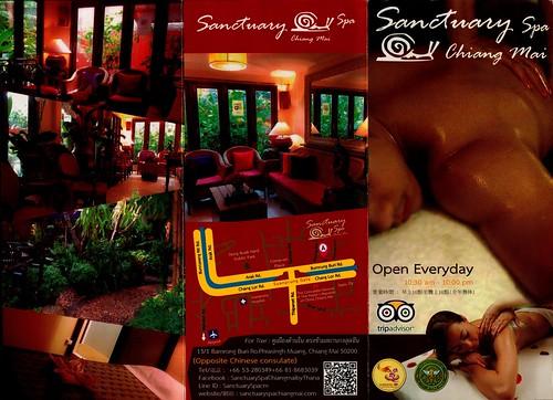 Brochure Sanctuary Spa Chiang Mai Thailand 1