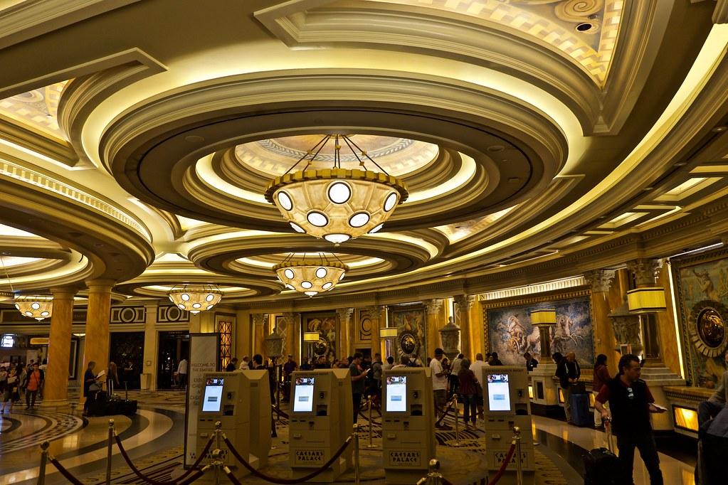 ... Caesaru0027s Palace Front Desk | By Rick Del Carmen Design