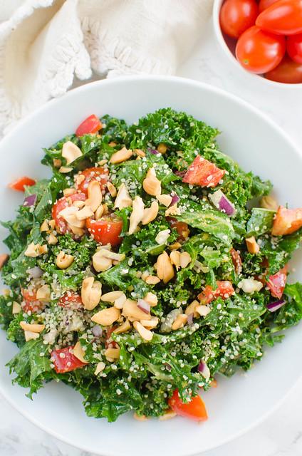 Paleo Pesto Kale Salad
