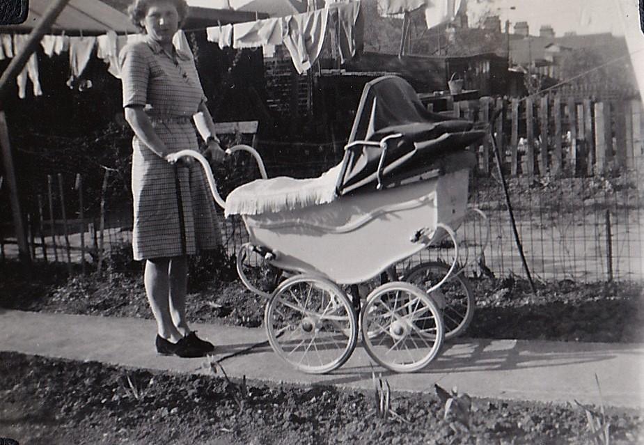 New Pram 1950s