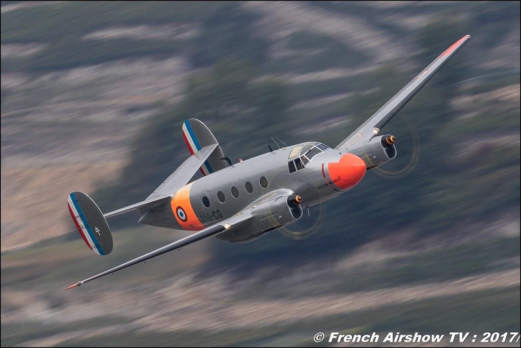 MD-312 FLAMANT F-AZES , N° 226 , Breitling Sion Air Show 2017 , sion airshow , montagne , Alpes suisse , Canton du Valais , Meeting Aerien 2017