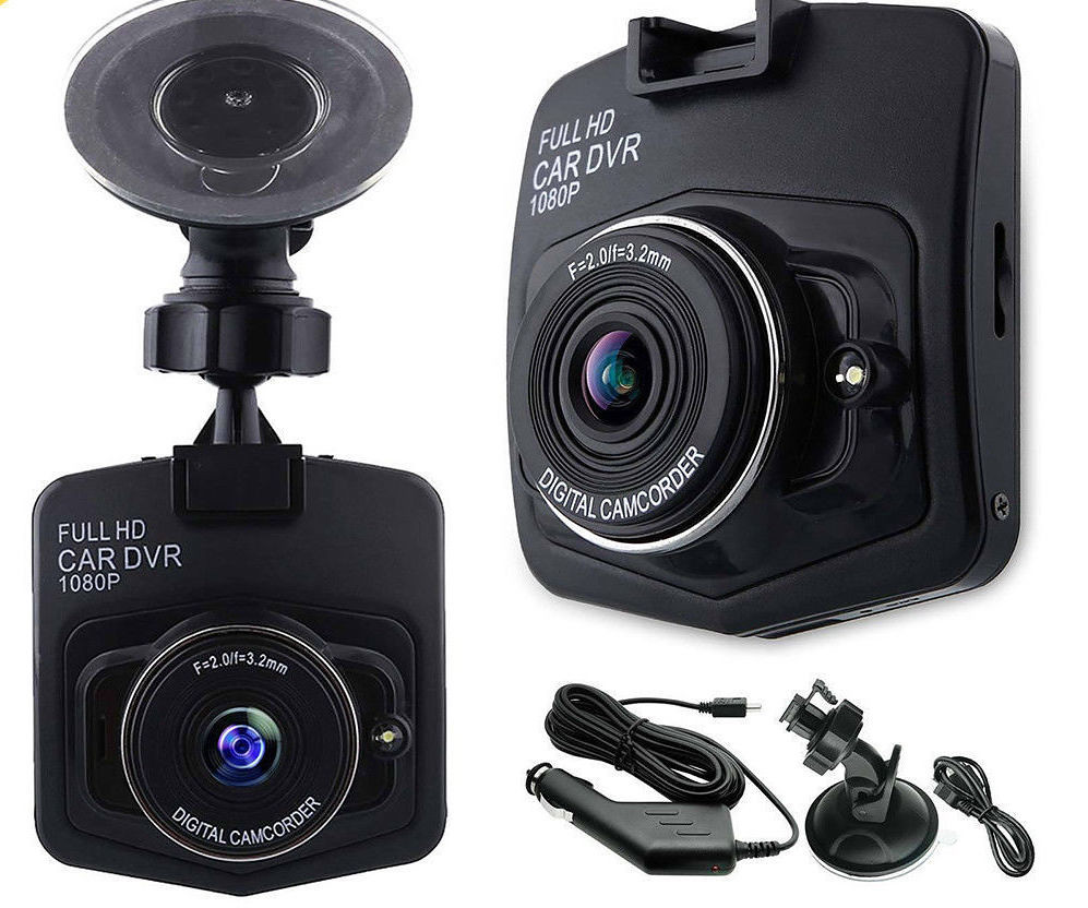 GT300 2.4 Full HD 1080P Car DVR Vehicle Camera Video Recorder Dash Cam G-sensor