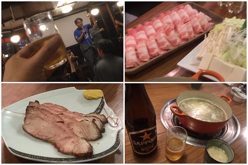 豚組しゃぶ庵 オジ旅 飲み会 2017.11.22