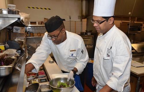 Executive Chef Sriram Hariharan and William