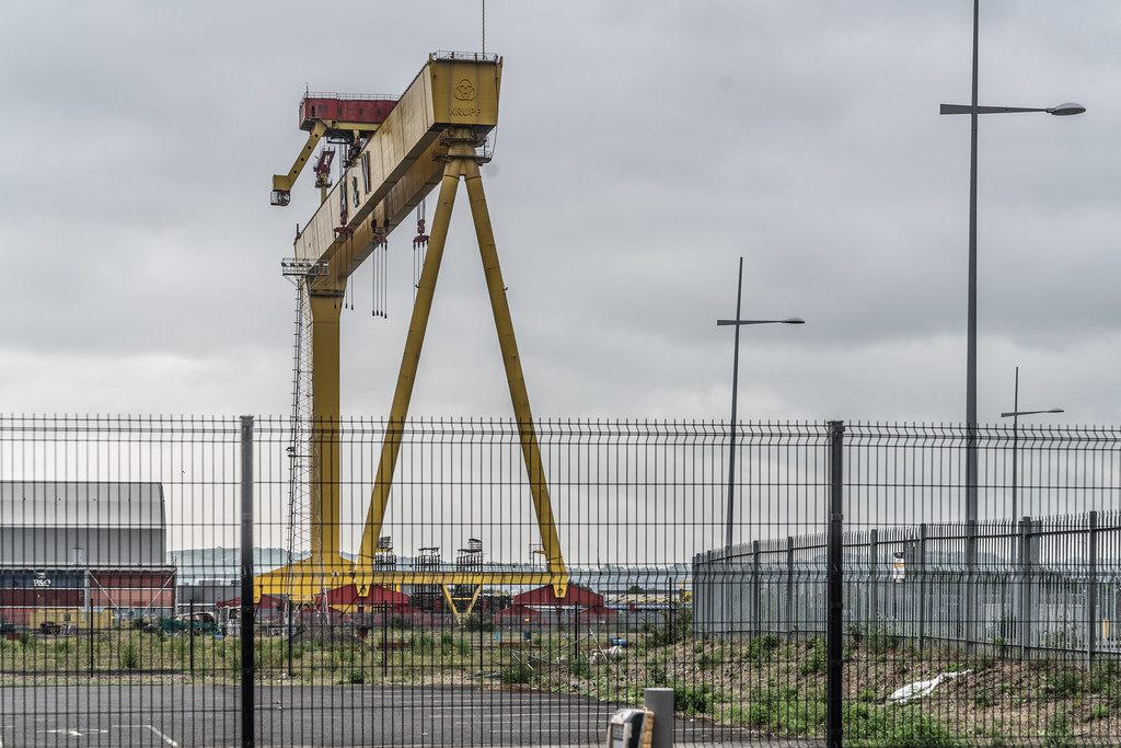 VIEW OF THE FAMOUS CRANES [SAMSON AND GOLIATH IN BELFAST] 004