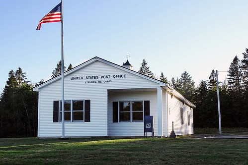 Steuben, ME post office | by PMCC Post Office Photos