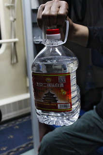 Drinking on the train between Beijing and Pyongyang | by Timon91