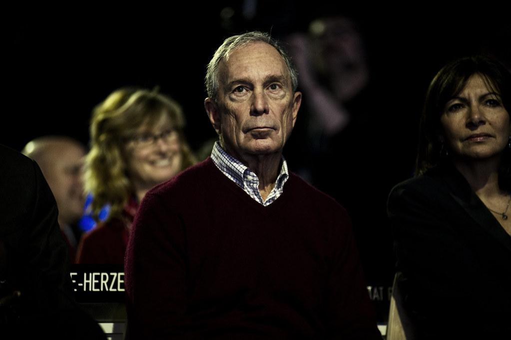 前紐約市長彭博(Michael Bloomberg)出席巴黎氣候大會COP21。圖片來源:COP PARIS(CC0 1.0)