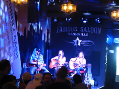 Country Music in Famous Saloon