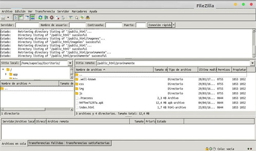 navecion-archivos-filezilla-flatpak