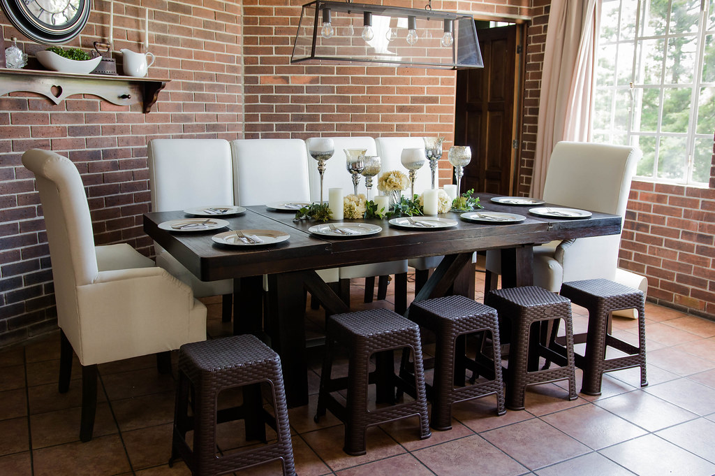 Image result for decorated dining rooms