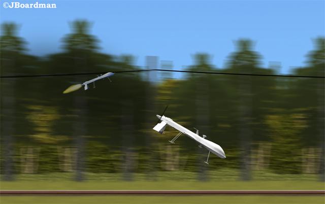 Posse drone kills target ©JBoardman