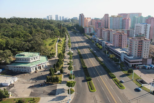 View from the Arch of Triumph, Pyongyang | by Timon91