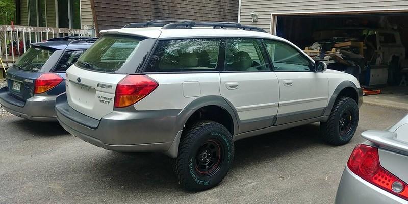 Custom Subaru Outback >> 4 INCH ADF lift kit on a 05 Outback - Page 2 - Subaru ...