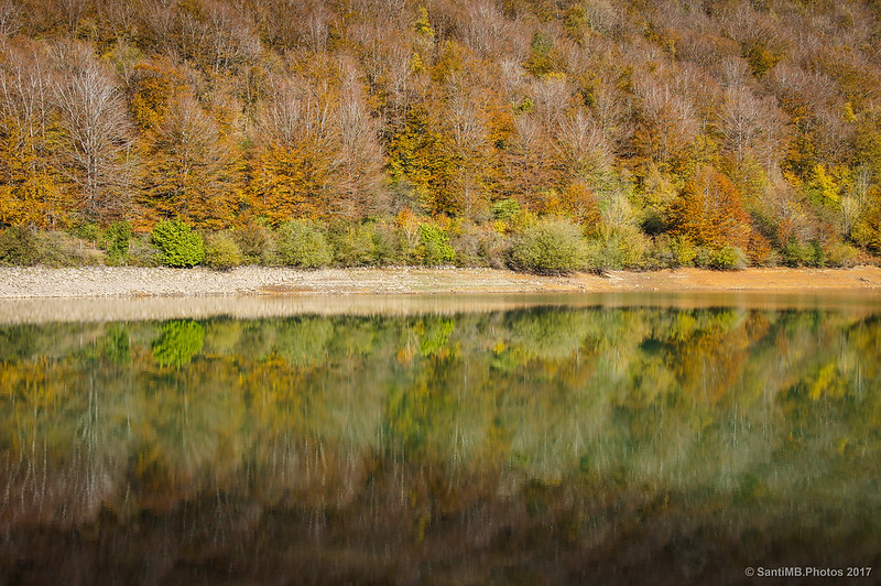 Lago Lareo en otoño