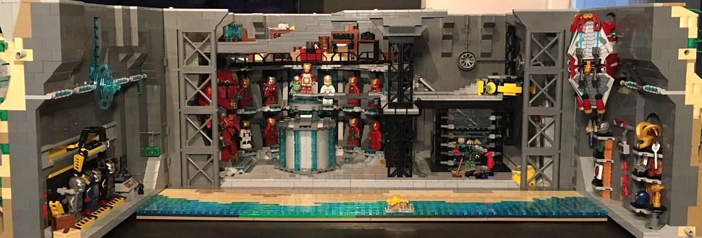 ... LEGO Malibu Mansion (Mk.4)   Iron Man Cellar Interior | By Kissyfur_ok