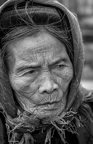 Portrait of an elderly resident  of Ninh Binh, Vietnam | by Phil Marion