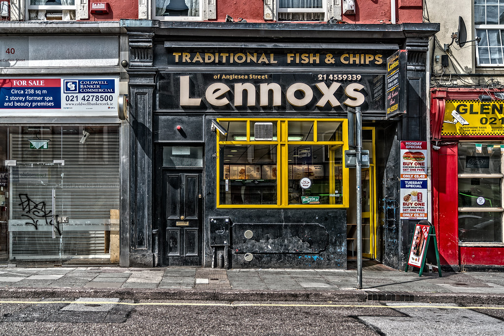 FISH AND CHIP SHOP IN CORK CITY