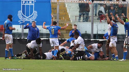 Italrugby vincente e convincente nel test match con le isole Fiji$