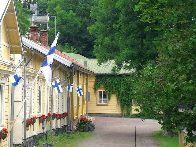 My Finland Summer Flags Naantali