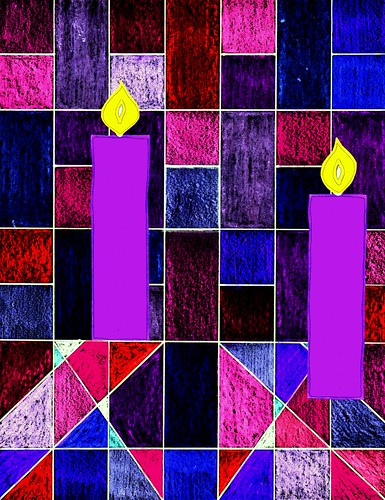 Advent 2 candles | by traqair57