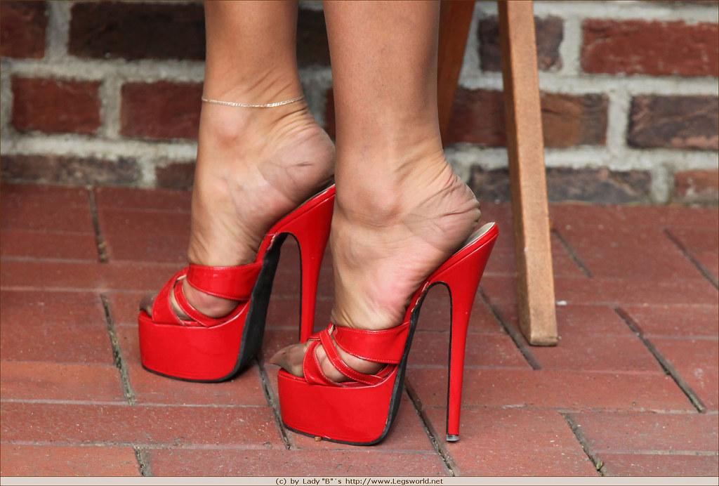 inch heels sexy | Lady Barbara-Legsworld | Heels Fan | Flickr