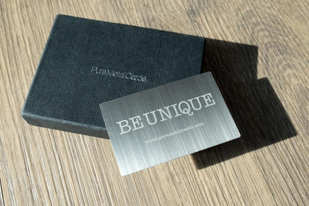 Pure metal cards vertical brushed steel business card flickr pure metal cards vertical brushed steel business card by pure metal cards colourmoves