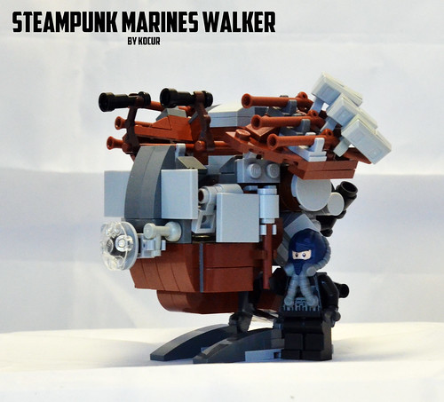 Steampunk Walker 01 Pilot | by kocurvelox