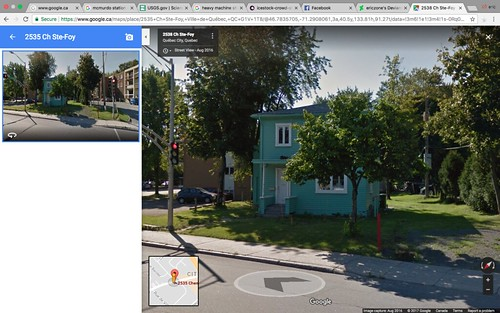 2535 chemin st-foy google map 2016 | by Eric Mailhot