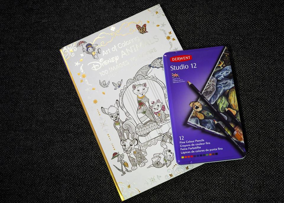 disney animals colouring book