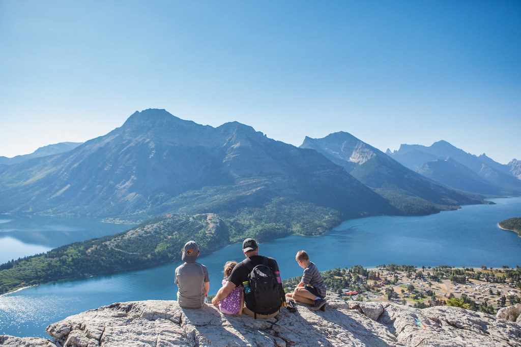 Exploring Bear's Hump and Waterton National Park
