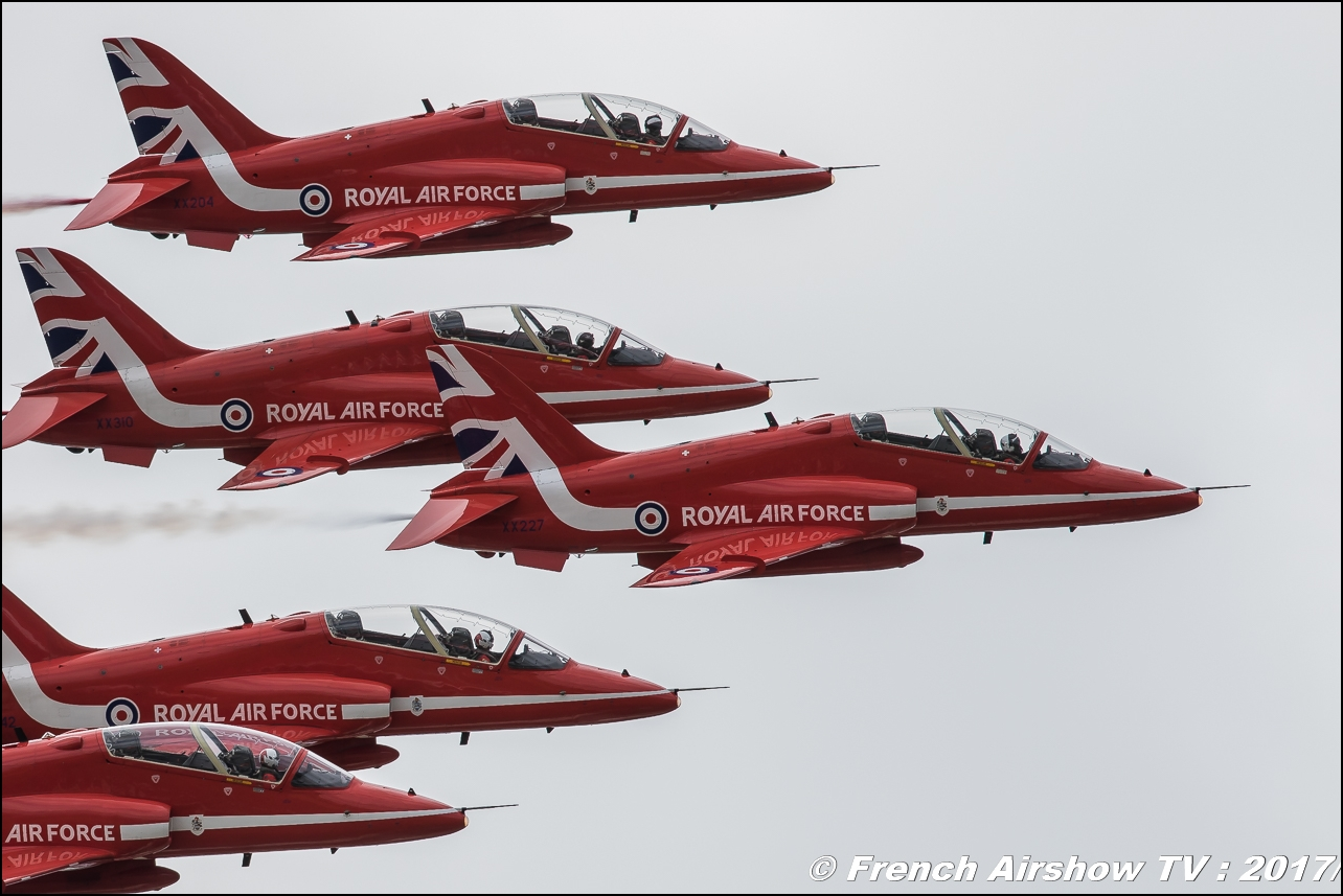 RAF Red Arrows , Royal Air Force Aerobatic Team , , Royal International Air Tattoo 2017 , Air Tattoo – RIAT 2017 , Fairford , UK Airshow Review 2017 , Meeting Aerien 2017