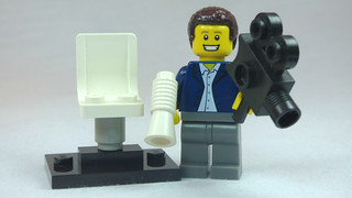 Brick Yourself Custom Lego Figure Happy Film Director | by BrickManDan
