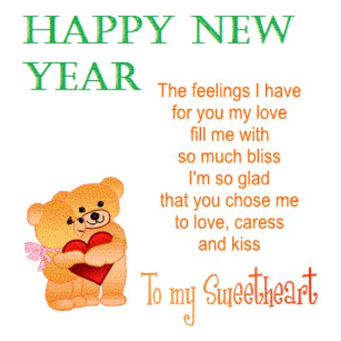 Happy New Year 2018 Quotes : Cute Love Poems for Her New Y… | Flickr
