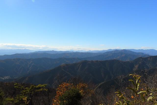 大岳山からの展望