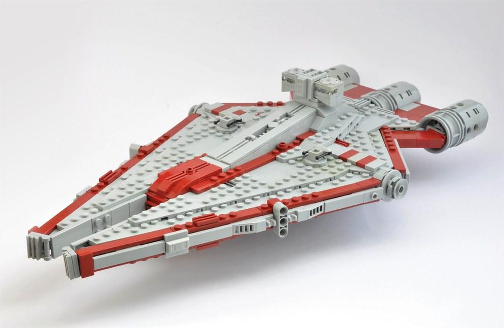 Star wars ring worlds arquitens class light cruiser flickr - Croiseur star wars lego ...