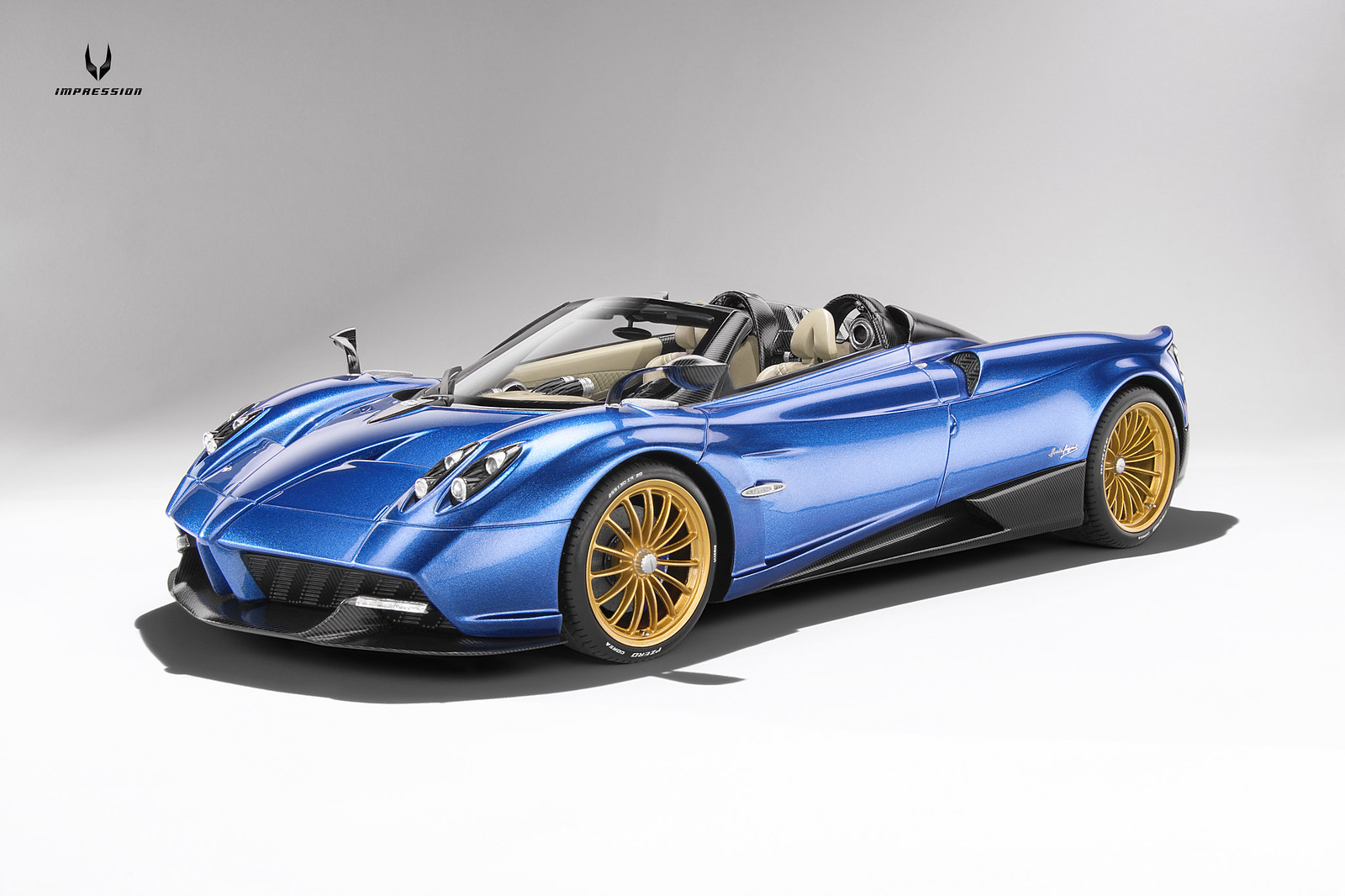 1 18 pagani huayra roadster topspeed diecast. Black Bedroom Furniture Sets. Home Design Ideas