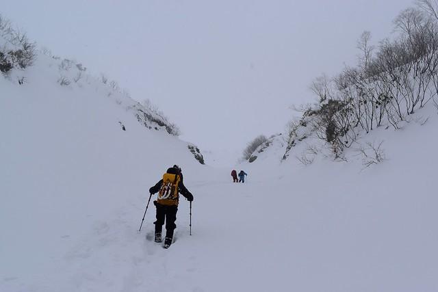 焼岳雪山登山(12月)