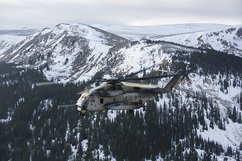 Winter Wonderland A Marine Corps Ch 53e Super Stallion